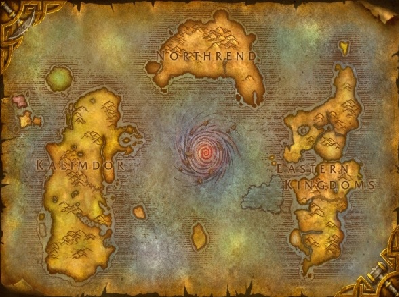 wow открыть карту: