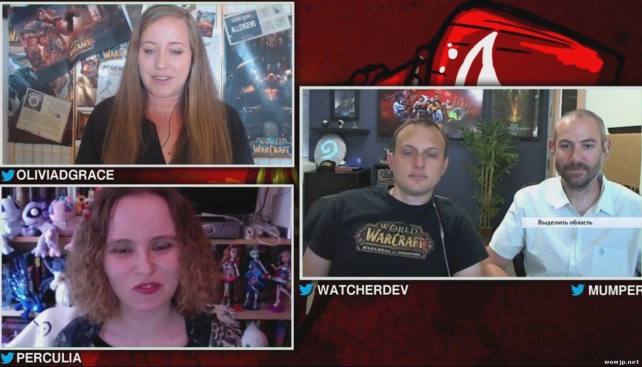 Интервью Wowhead с ведущими дизайнерами игры