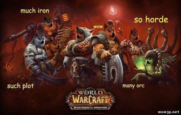 Запуск Warlords of Draenor