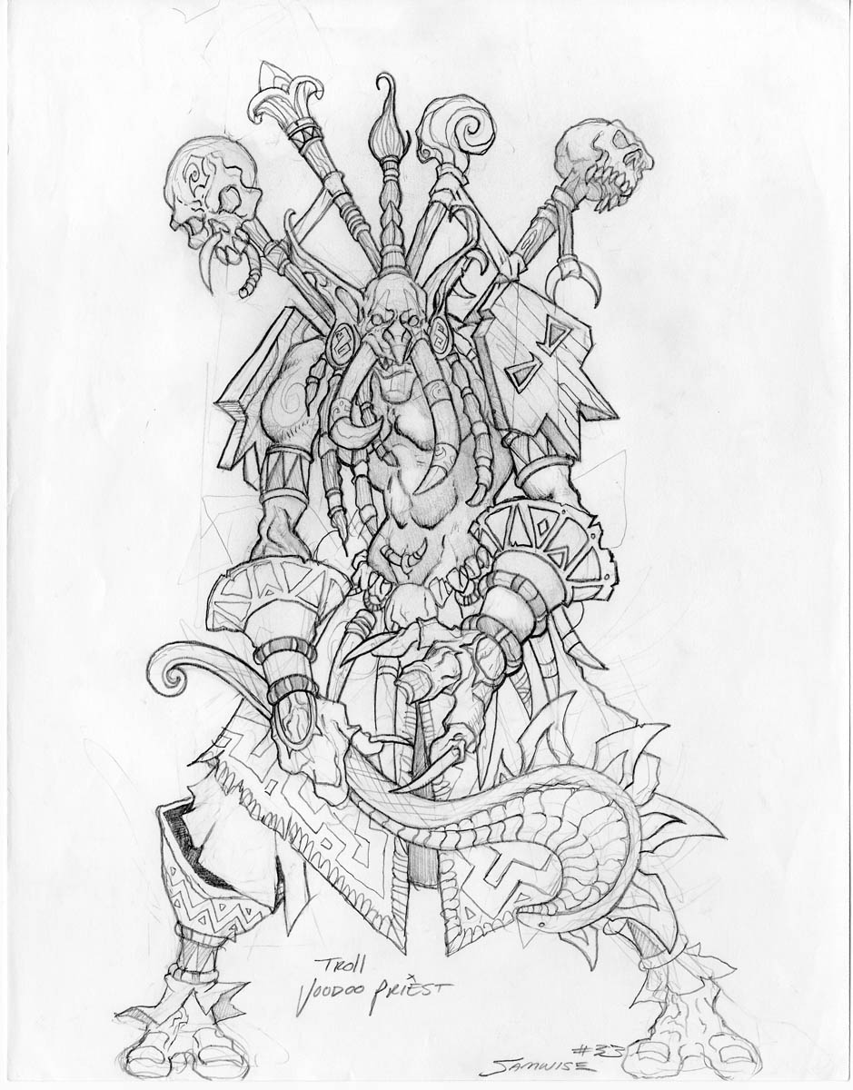 worldof warcraft coloring pages - photo#31